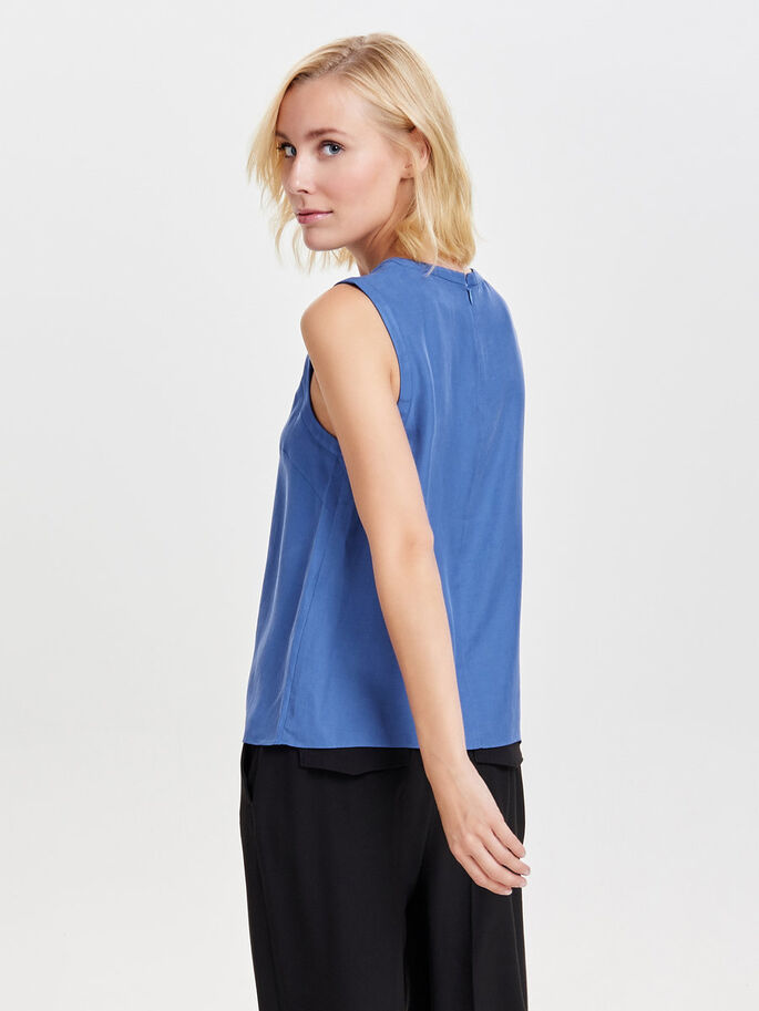 LISO TOP SIN MANGAS, Amparo Blue, large