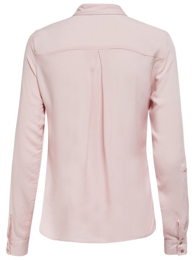 WOWEN LONG SLEEVED SHIRT, Sepia Rose, large
