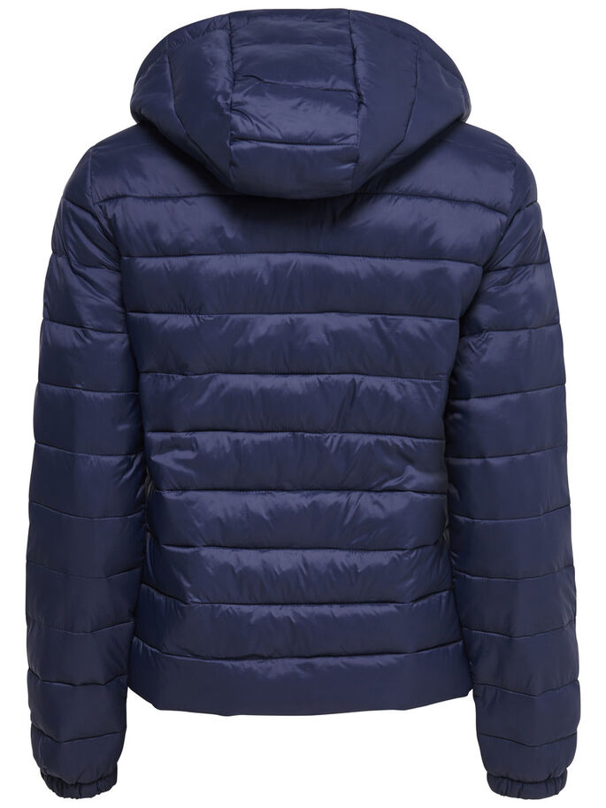 NYLON QUILTED JACKET, Sky Captain, large