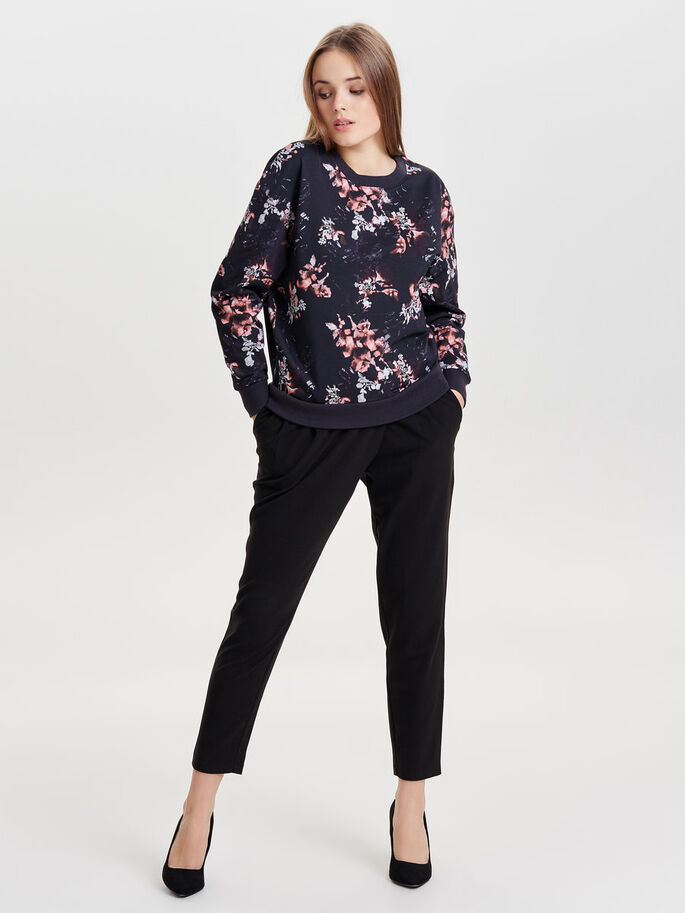PRINTED SWEATSHIRT, Deep Well, large