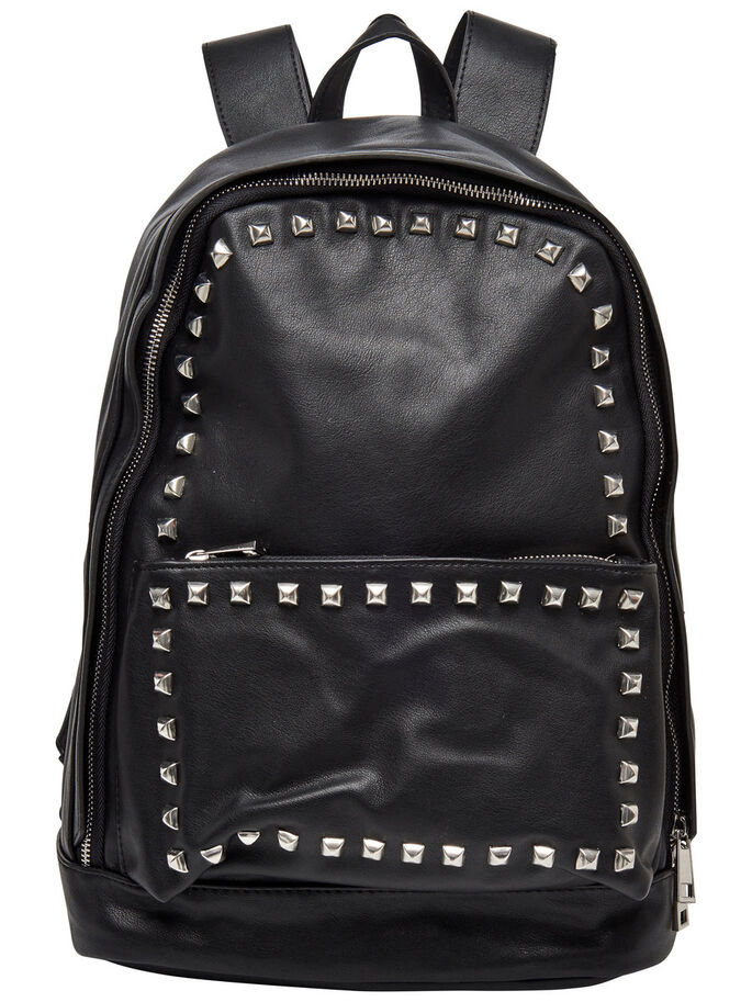 STUD BAG, Black, large