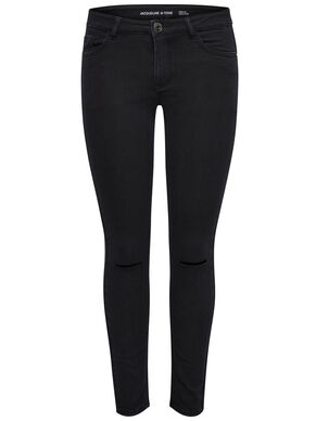 HOLLY KNEECUT ANKLE SKINNY FIT JEANS
