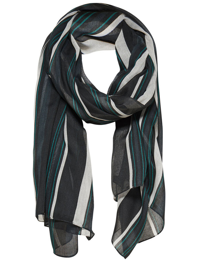STRIPED SCARF, Botanical Garden, large