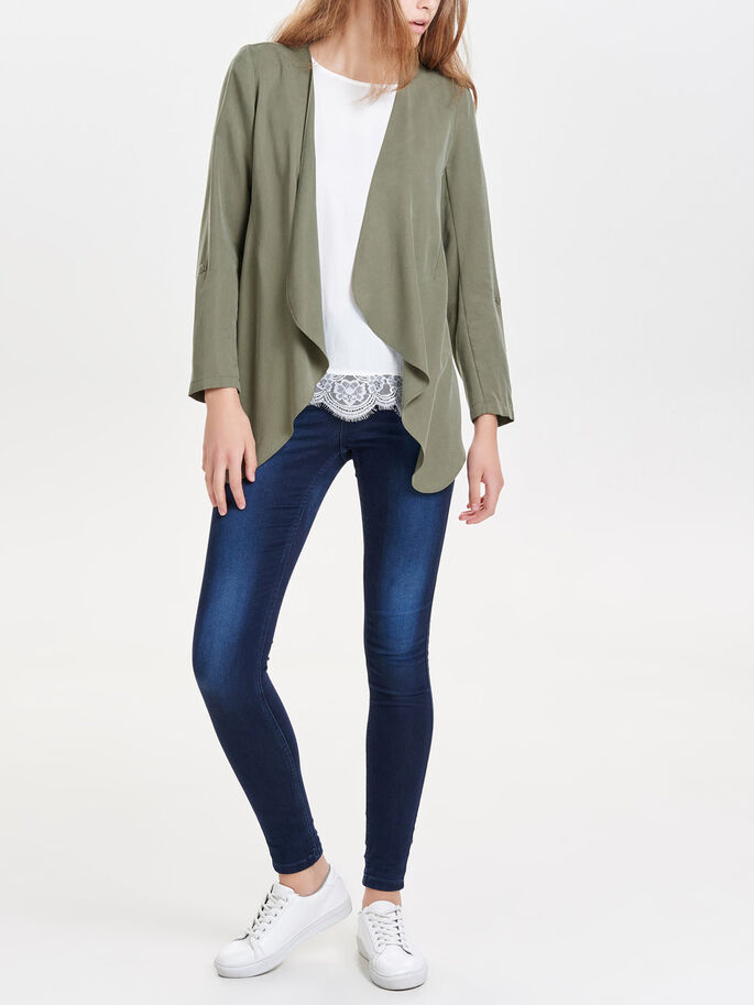 DRAPIERTER BLAZER, Dusty Olive, large