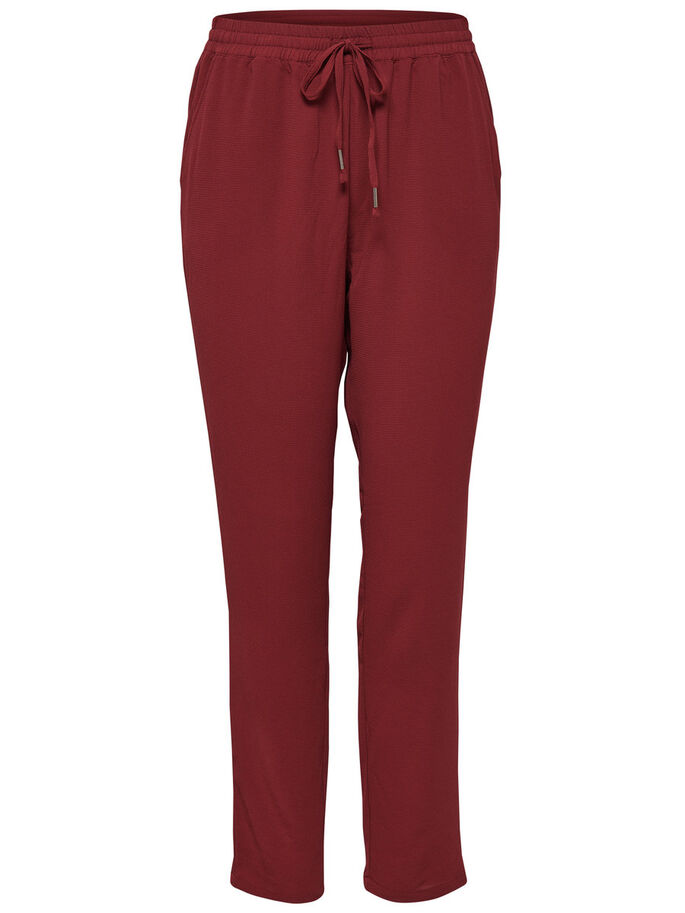 COULEUR UNIE PANTALON, Syrah, large