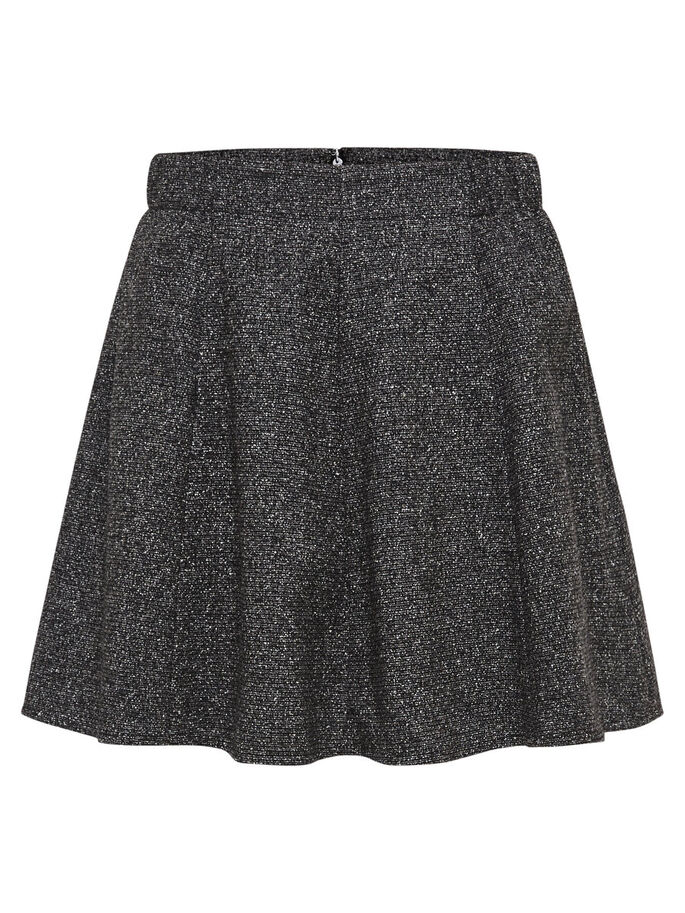 A-LINE SKIRT, Dark Grey Melange, large