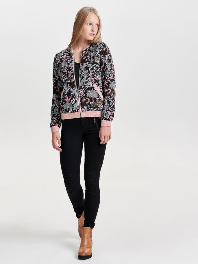 BOMBER CHAQUETA, Misty Rose, large