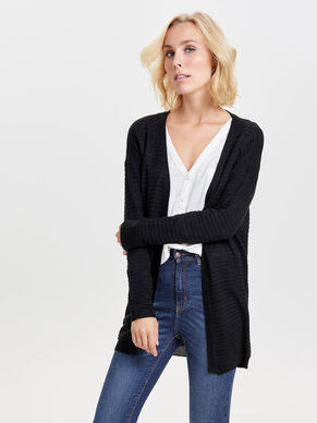 STRUCTURE KNITTED CARDIGAN