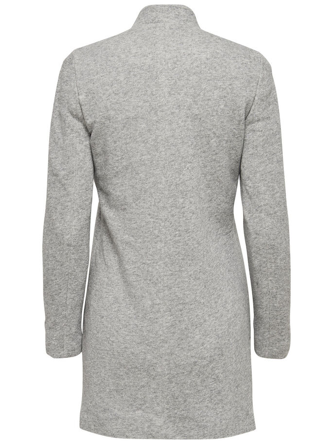 KLASSISK KAVAJ, Light Grey Melange, large
