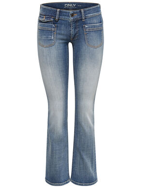 EBBA LOW BOOTCUT JEANS