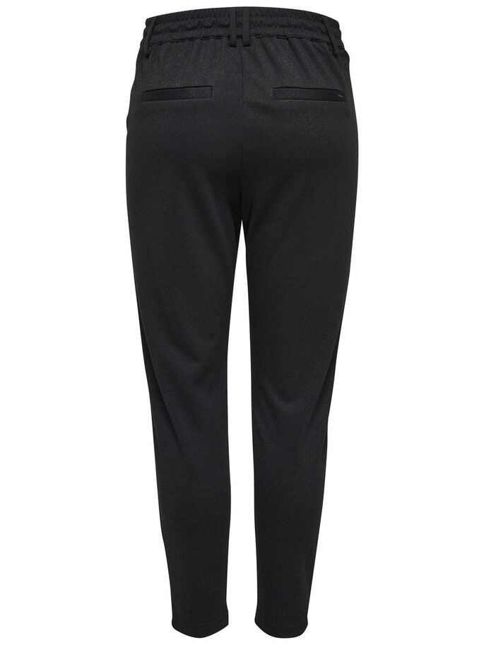 POPTRASH PAILLETTES PANTALON, Black, large