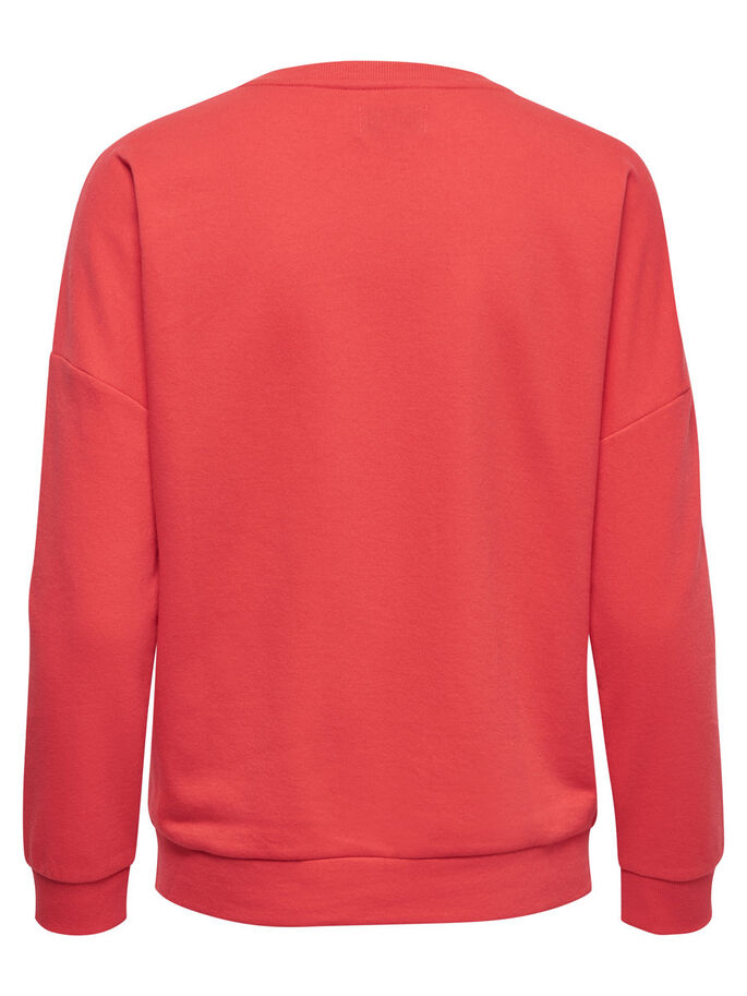 NOËL SWEAT-SHIRT, Poppy Red, large