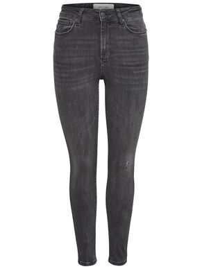 STUDIO1 HIGH WAISTET ANKLE SKINNY FIT JEANS