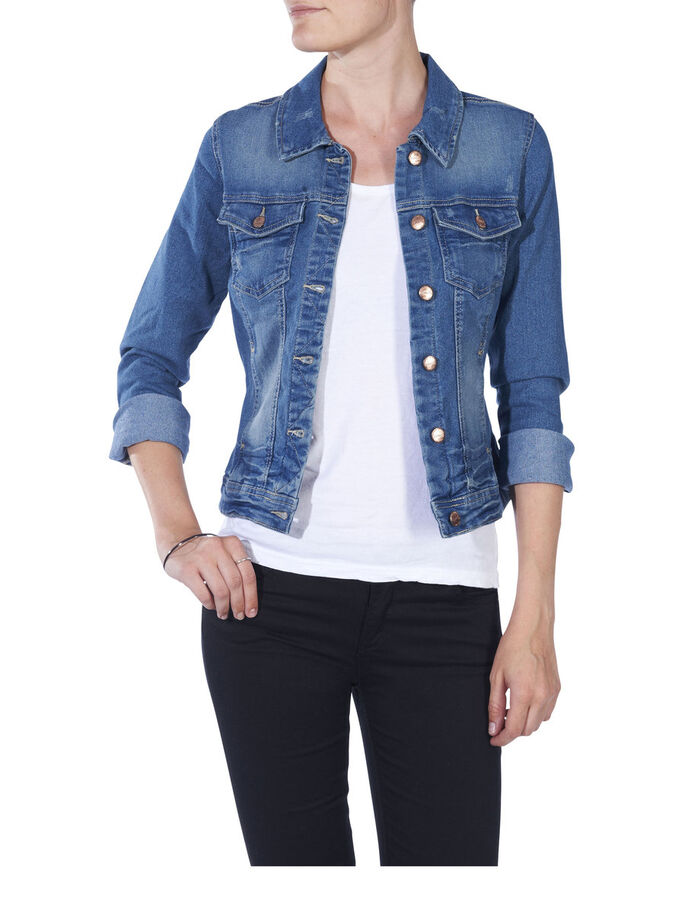 DENIM JACKET, DENIM, large