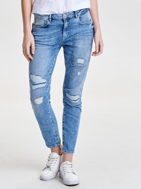 RELAX DESTROYED ANTI-FIT-JEANS
