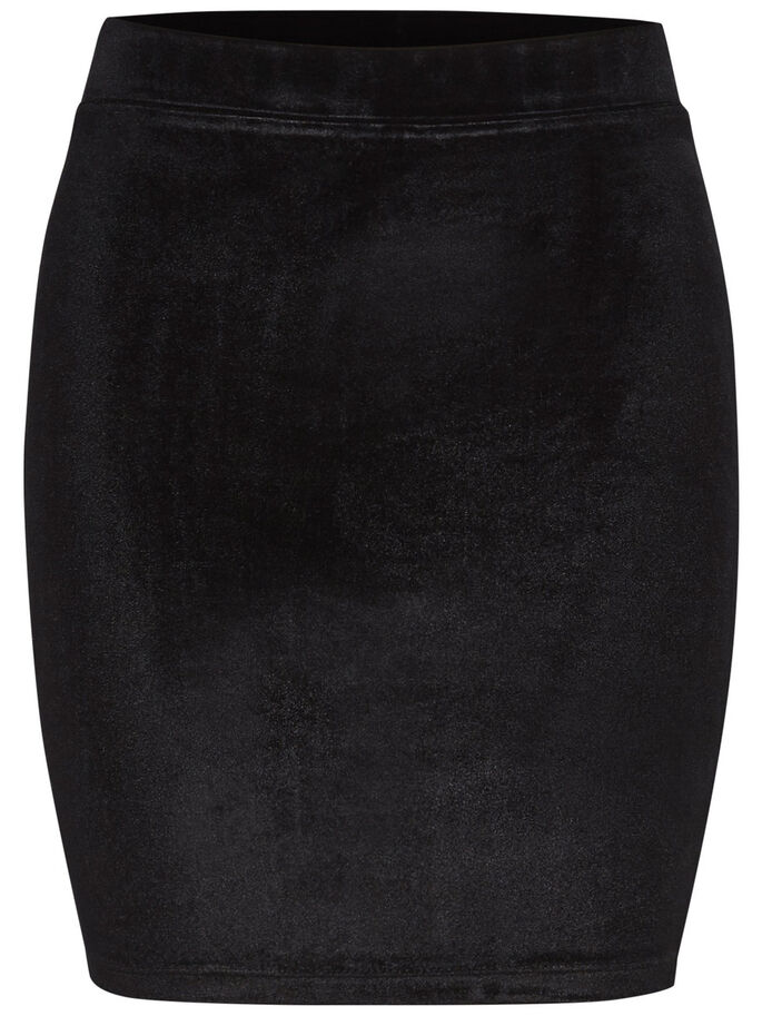 PENCIL SKIRT, Black, large