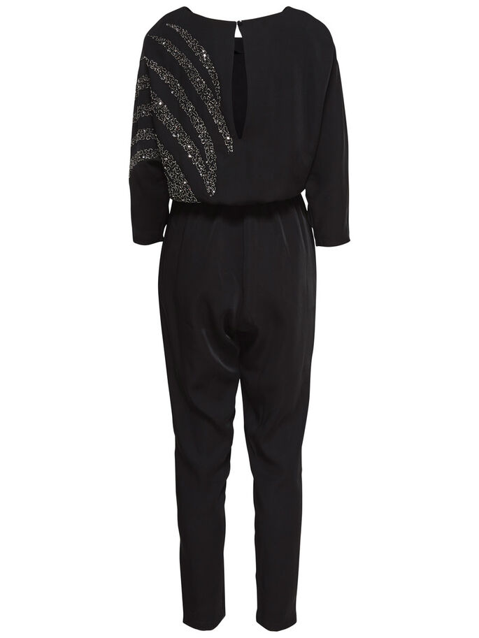 7/8-ÄRMELIGER JUMPSUIT, Black, large