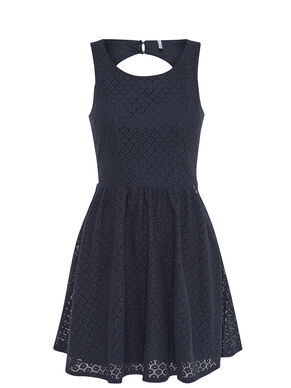 LACE SLEEVELESS DRESS