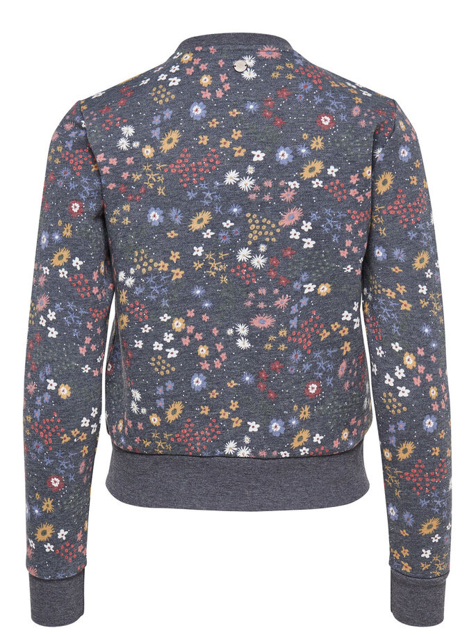 BOMBER SWEATJACK, Night Sky, large