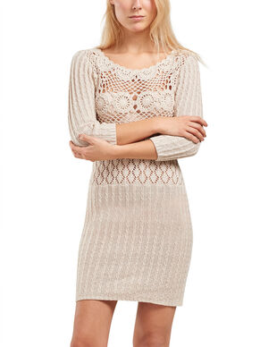 DETAILED KNITTED DRESS
