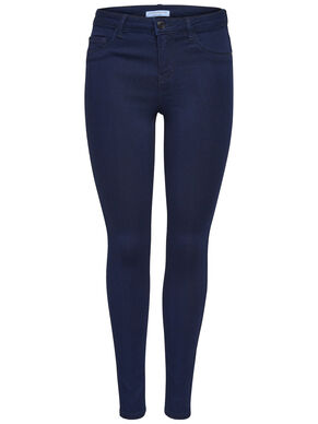 JDY LOW ULLE  INDIGO SLIM FIT JEANS