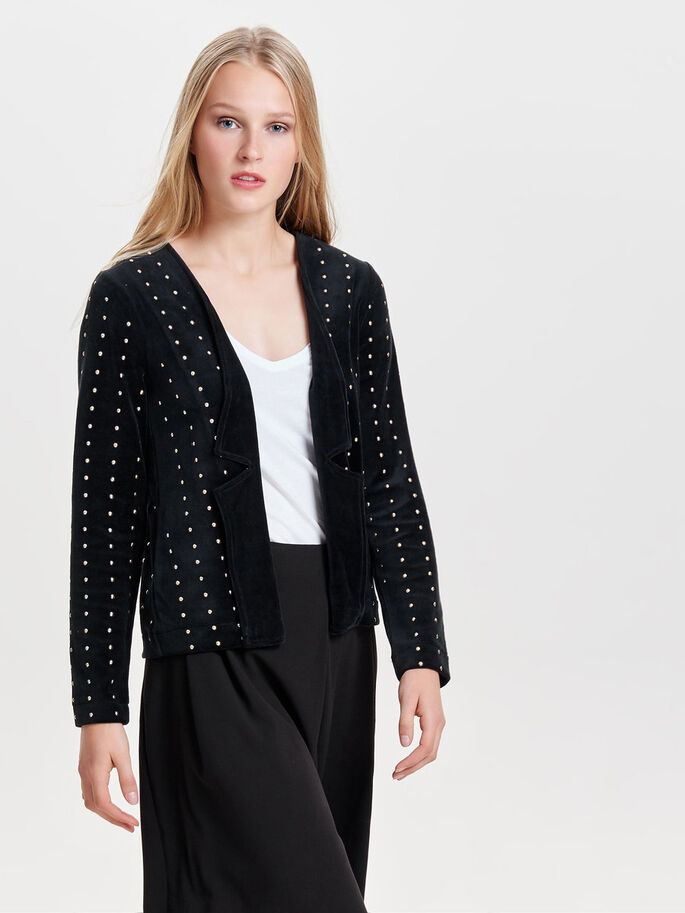NITTE BLAZER, Black, large