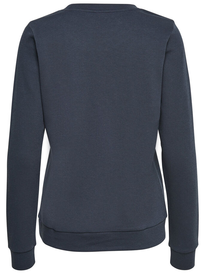 BEDRUCKTES SWEATSHIRT, Sky Captain, large