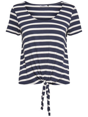 KNOT SHORT SLEEVED TOP