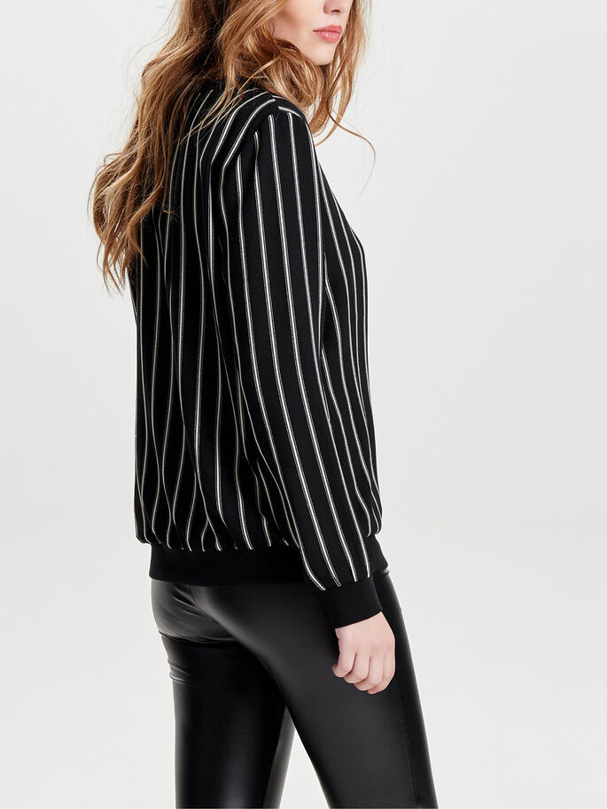 LØS LONG SLEEVED TOP, Black, large