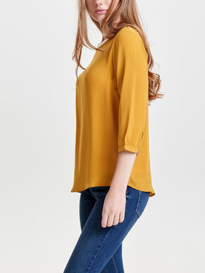 LOOSE 3/4 SLEEVED BLOUSE