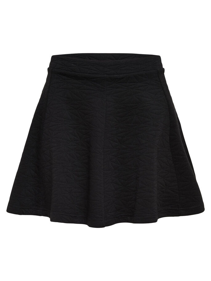 DETAILED SKIRT, Black, large