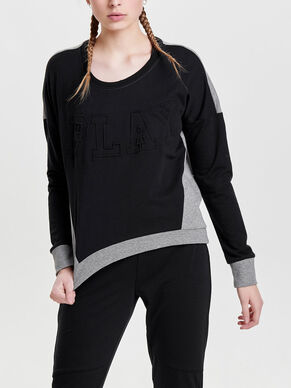 SWEAT SPORTS BLOUSE