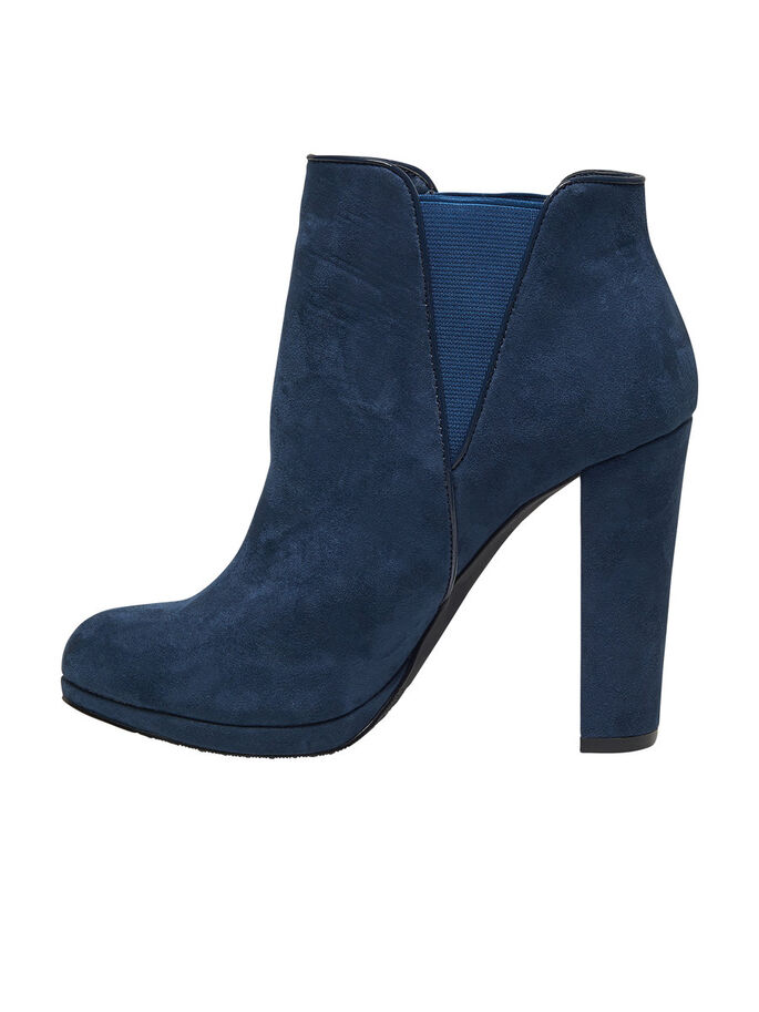HEELED ANKLE BOOTS, Ensign Blue, large