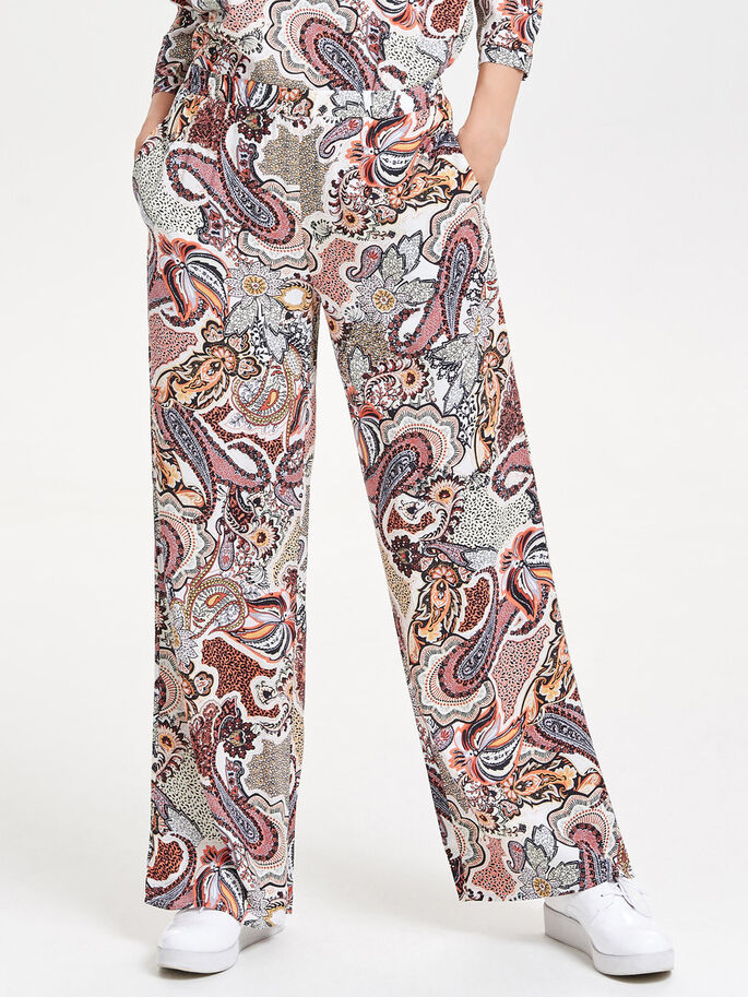 PRINT BROEK, Cloud Dancer, large