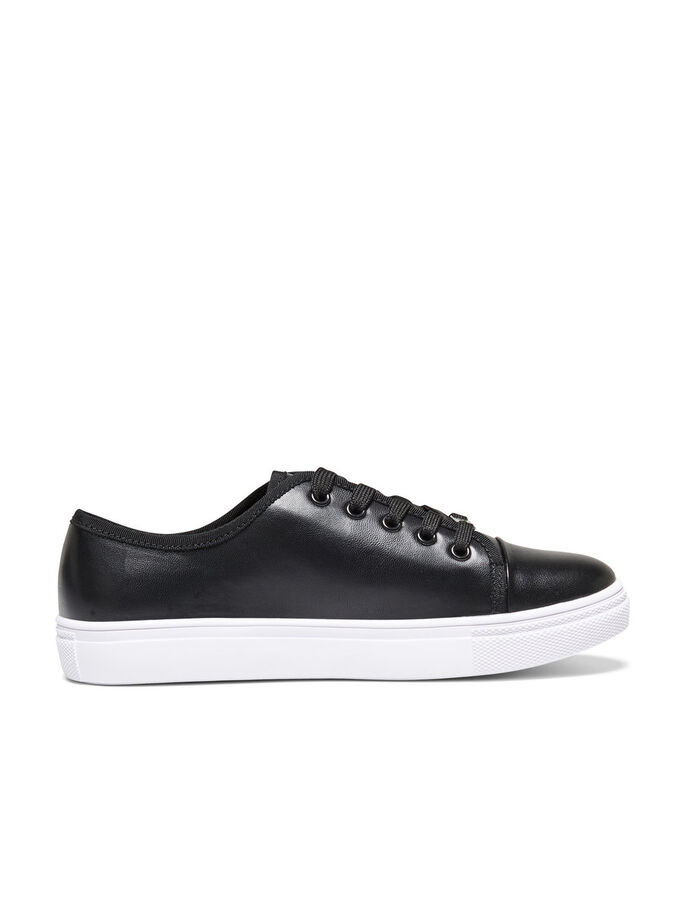 LACE UP SNEAKERS, Black, large