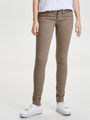 SKINNY PUSH UP TROUSERS