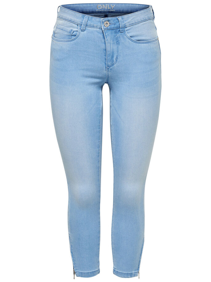 ROYAL REG ANKLE SKINNY FIT JEANS, Light Blue Denim, large