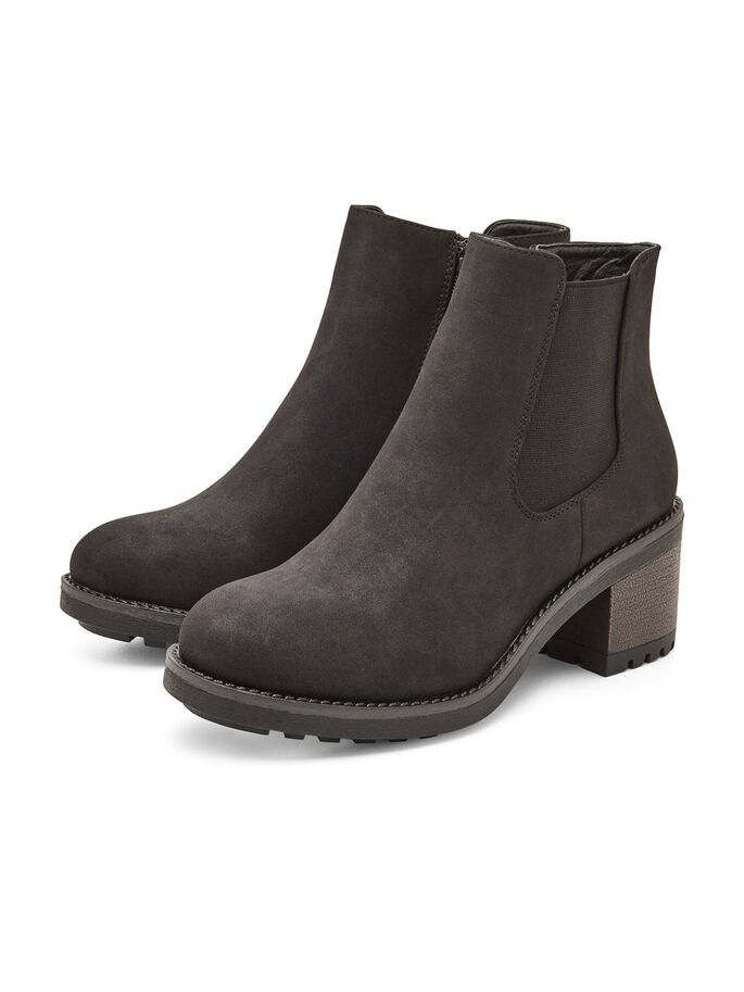 RAW BOOTS, Black, large