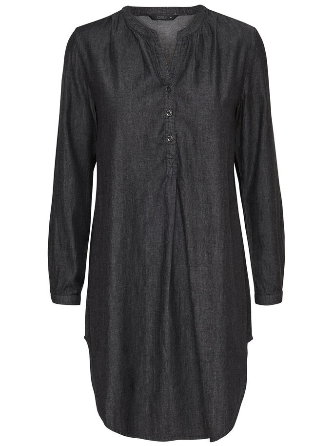 LANGE TUNIEK, Black, large