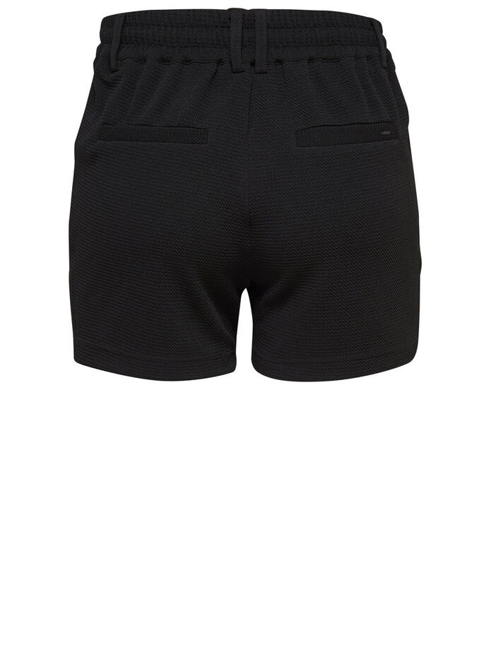 POPTRASH- SHORTS, Black, large