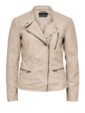 LEATHER LOOK JACKET