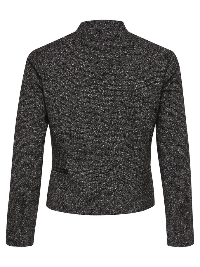 KORT BLAZER, Dark Grey Melange, large