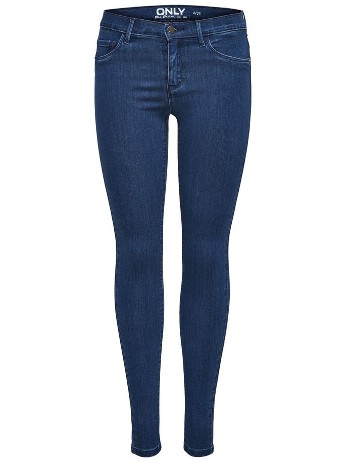 RAIN REG SKINNY JEANS, Medium Blue Denim, large