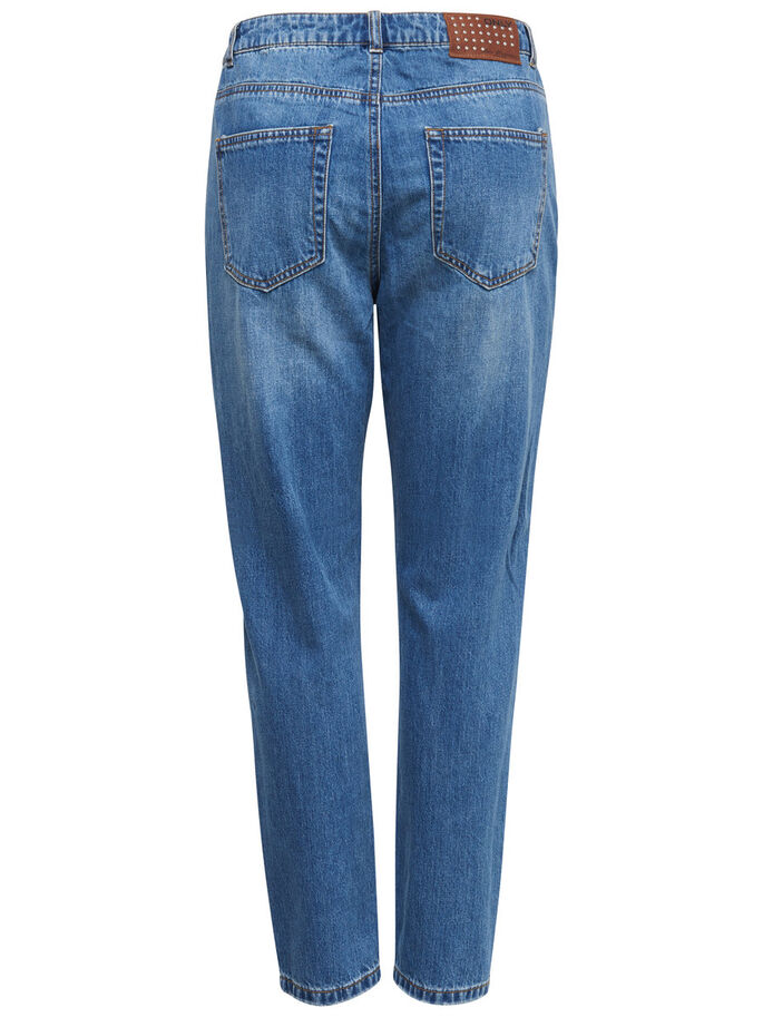 TONNI BOYFRIEND JEANS, Medium Blue Denim, large