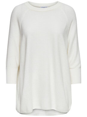 LOOSE FITTED 3/4 SLEEVED TOP