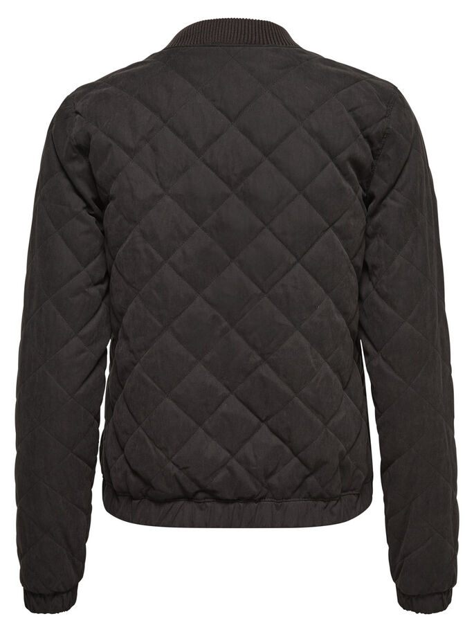 BOMBER QUILTED JACKET, Black, large