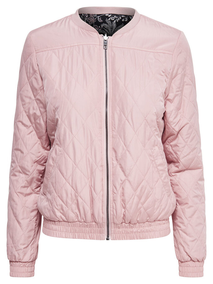 BOMBER JACKET, Misty Rose, large