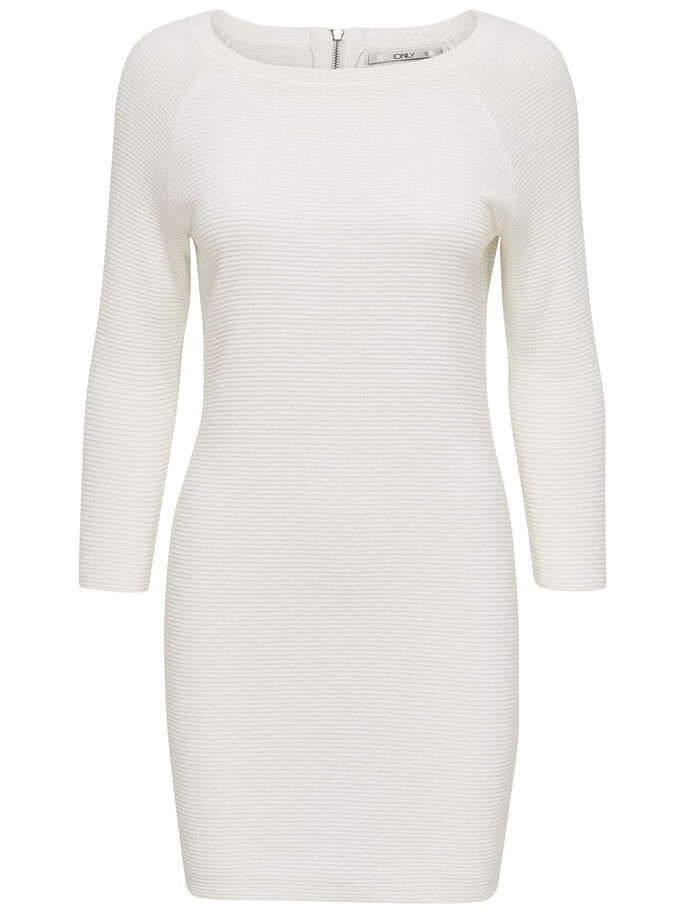 DETAILED KNITTED DRESS, Snow White, large