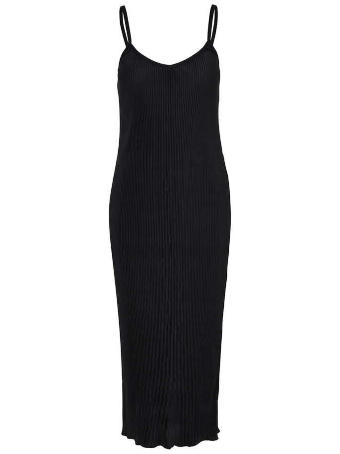 ÆRMELØS DRESS, Black, large