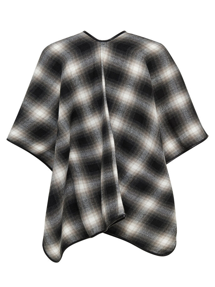 RUTETE PONCHO, Whitecap Gray, large
